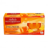 WESTMINSTER - Ingwer Orange Tee 62,5g