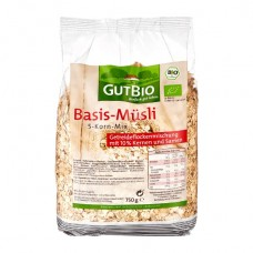 GUT BIO - Bio Basis-Müsli 5-Korn-Mix 750g