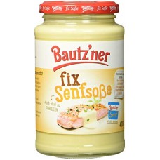 Bautz'ner - fix Senfsoße 400ml Glas